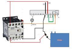Tic r17 + contatora, para ligar  aparelhos de maior amperagem, como resistências