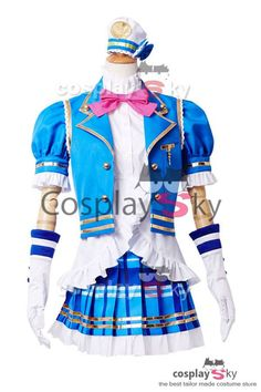 cosplaysky LoveLive! Sunshine!! Aqours Kurosawa Ruby Cosplay Disfraz 1  Cool Halloween Costumes a5caa11852c6