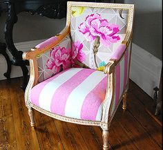 What a fabulous whimsical chair.