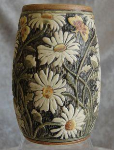 "Weller Pottery Knifewood Vase, 7"", Ca.  1922"
