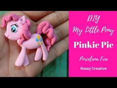 Porcelana fria modelado pony - YouTube