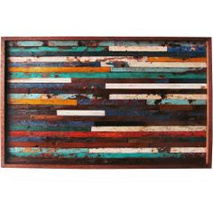 Ecologica Reclaimed Wood Art Panel Today: $254.99