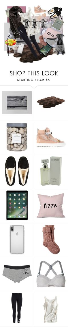 """Windy, awful day!"" by candycandy150 ❤ liked on Polyvore featuring NOVICA, OPI, Bowron, Threshold, Giuseppe Zanotti, UGG, Calvin Klein, DENY Designs, Speck and Fat Face"