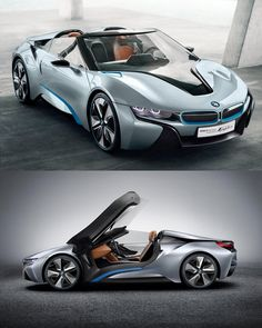 BMW i8 Concept Spyder takes to the road, sounds almost as gorgeous as it looks (video).