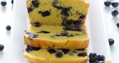 9 Best Keto Bread Recipes That'll Make You Forget Carbs_Keto Blueberry Lemon Bread
