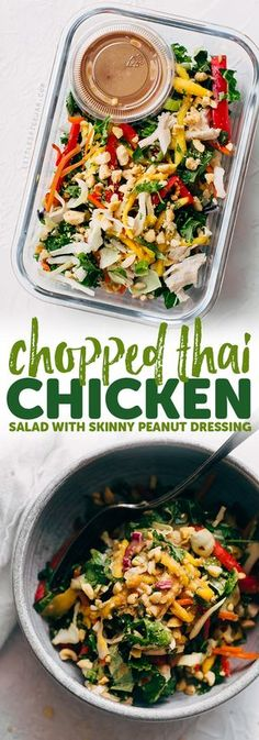 Chopped Thai Chicken