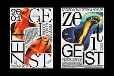Designer Jiri Mocek's work is laced with bold yet considered typography Graphic Design Tips, Graphic Design Posters, Graphic Design Typography, Book Design, Layout Design, Print Design, Branding Design, Composition Design, Poster Design Inspiration