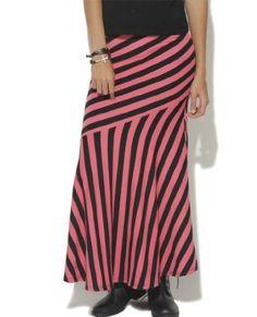 Wet Seal Women's Pieced Maxi Skirt