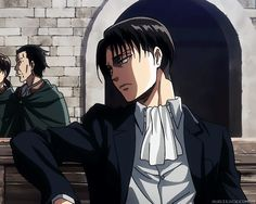 THANK YOU to whoever made this, been waiting to save this shot since the episode came out | Levi Heichou | Shingeki no Kyojin — SnK Season 2・Ep. 33 - [Levi Ackerman]
