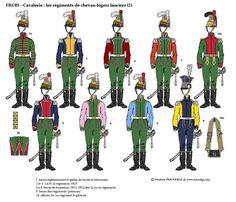 """Résultat de recherche d'images pour """"uniforme de chevau-leger"""""""