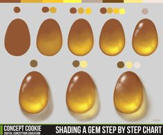 Tip: Shading a Gem | Concept Cookie