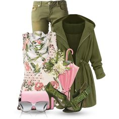 Spring time Rainy Season by flowerchild805 on Polyvore featuring Dorothy Perkins, Les Éclaires, L.A.M.B., Coach 1941, Ted Baker and Tory Burch