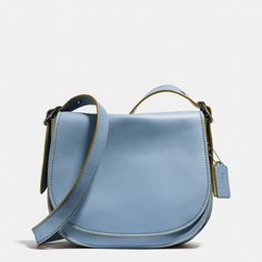 ≪COACH≫|SADDLE BAG IN GLOVETANNED LEATHER