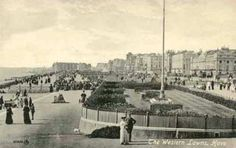 Archive photo of Hove Lawns, East Sussex,ntaken in the early 1900s