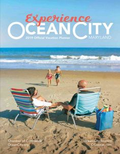Everything you need to know about your vacation to Ocean City, Maryland is in the 2019 Ocean City Vacation Guide. Ocean City Delaware, Ocean City Md, Outdoor Beach Decor, Vacation Planner, Vacation Ideas, Vacation Memories, Maryland, Places To Go, Tourism