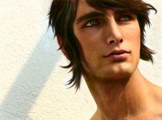 Greece - Heracles Karpusi by kirigi-risu.deviantart.com on @deviantART - Photo manipulation based on a picture of Greek model Marios Lekkas