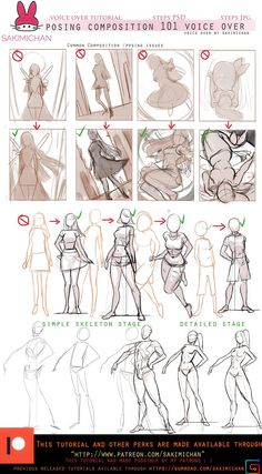 Body proportions references