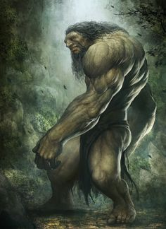 Troll, Cool Concept Art by Saryth