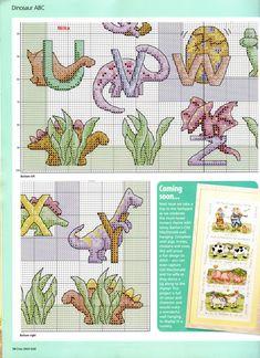 Necesito abecedario con tema de Dinosaurios por favor! | Aprender manualidades es facilisimo.com