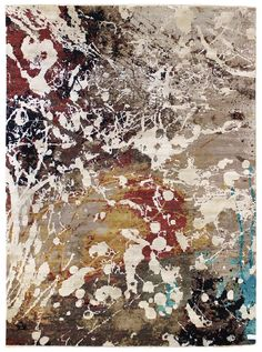 Buy Patinated Look Contemporary Rug - J40277 from Landry & Arcari on Dering Hall