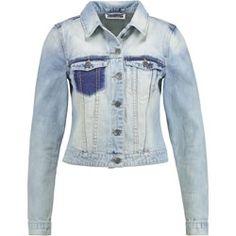 Noisy May NMPATTY Kurtka jeansowa light blue denim