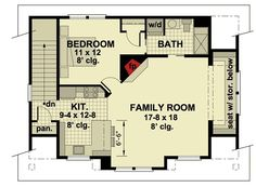 3 Car Garage Apartment with Class - 14631RK   2nd Floor Master Suite, CAD Available, Carriage, PDF   Architectural Designs
