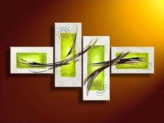 Wonderful Multi Panel Abstract Art - Great piece for decorating a rooms wall. http://www.directartaustralia.com.au/