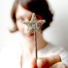 Star hair pin. too cute!