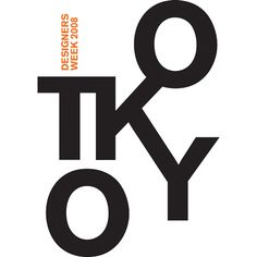Poster of TOKYO Designer Week, 2008 by F.DO, via Flickr