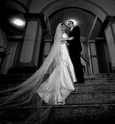 Vestido de noiva calda longa