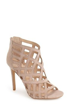 Vince Camuto 'Tatianna' Caged Peep Toe Bootie (Women) available at #Nordstrom