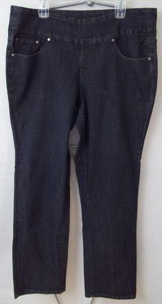 Talbots Jeans Pants Curvy Straight Black Womens Size 6P 28 #Talbots #CurvyStraight