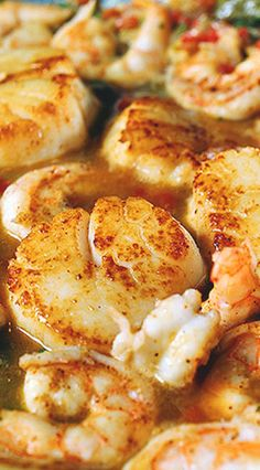 Key Lime Shrimp and Scallops