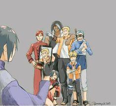 Boruto: Naruto The Movie Naruto Shippuden Sasuke, Naruto Kakashi, Sasunaru, Anime Naruto, Boruto, Naruto Comic, Wallpaper Naruto Shippuden, Naruto Cute, Sarada Uchiha