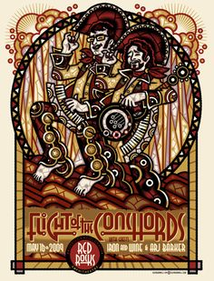 GigPosters.com - Flight Of The Conchords - Iron And Wine