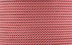 E.L. Wood Type III 550 Paracord - Candy Cane
