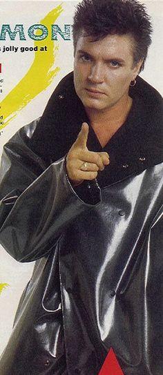 Simon Le Bon. If LeBon is pointing, you're in some deep doo-doo.