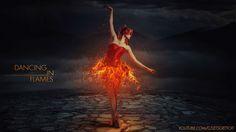 炎に踊る - フォト操作ビデオチュートリアル