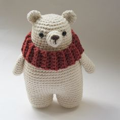 Leopold, the Polar Bear - FREE PATTERN by {Amour Fou}