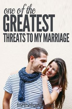 Marriage is a covenant, a commitment of love and respect. Even the strongest of relationships are vulnerable to daily conflict. Some of the worst conflicts in marriage happen when you are not actively seeking God. Then I become one of the greatest threats to my marriage.