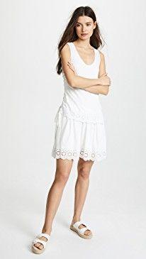 New Derek Lam 10 Crosby Scalloped Hem Dress online. Find the  great Black Halo Clothing from top store. Sku kmns49707rvba88688