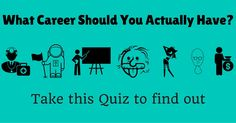 Tired of your boring 9-5 job? Looking for a great job after you pass out of college? These fun questions will help you figure out what kind of career  could be just right for you?