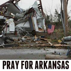 #PrayForArkansas