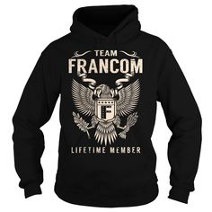 Team FRANCOM Lifetime Member - Last Name, Surname T-Shirt