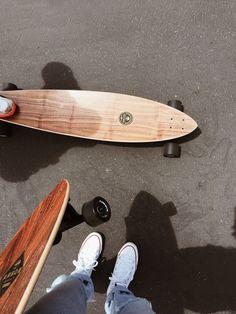Arbor longboards in Malibu. Via Mija