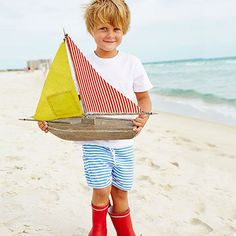 Boys Pima Play Short. Available in Solids: Grass, Ocean, Red and Navy. Stripes: Navy/White, Red/White, and Royal/White. Style No. S075