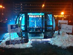Warszawa - Oficjalna prezentacja funnitela, trochę śniegu i otwarcie sezonu dla dziennikarzy, ambasadorów i fanów białego szaleństwa. Aquarium, Goldfish Bowl, Aquarium Fish Tank, Aquarius, Fish Tank