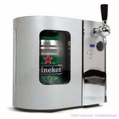Dispesador De Cerveza Heineken Edgestar Deluxe Mini - $ 5,299.00