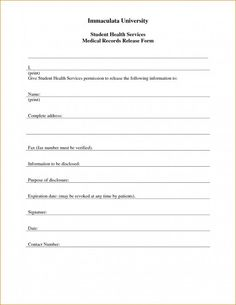 Printable Medical Release Form For Children Adorable 18 Best Consent Forms Images On Pinterest  Esthetician Room .