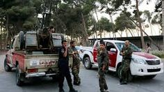 5 killing of the Libyan army in an attack on the headquarters of the security in Benghazi